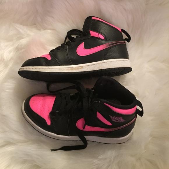 Jordan Shoes | Pink And Black S Kids 2